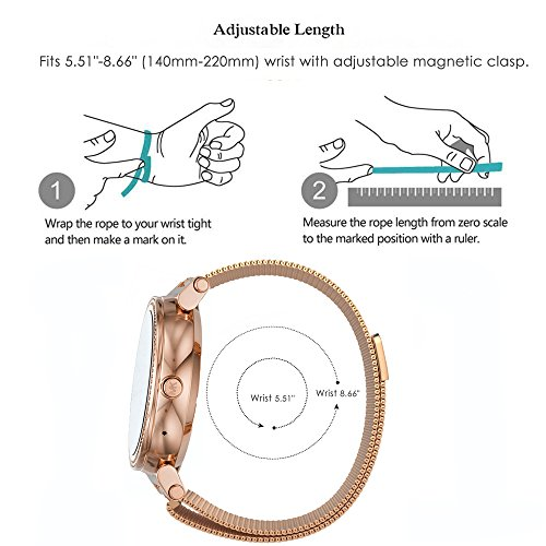 281287e3e09a Lamshaw Quick Release Smartwatch Band for Michael Kors Access - Import It  All