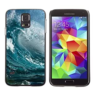 Designer Depo Hard Protection Case for Samsung Galaxy S5 / Waves