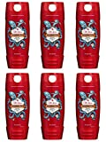 Old Spice Wild Collection Body Wash, Krakengard, 16 Fluid Ounce (Pack of 6)