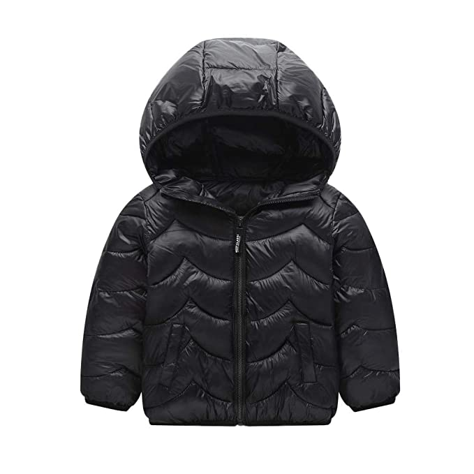 a1cf17a4e Baby Boy Girl Snowsuit Winter Hooded Coat Cloak Zipper Outfits ...