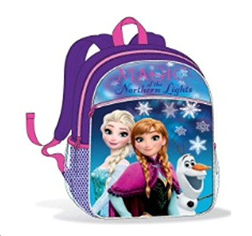 Frozen, Large Backpack Ana Elsa Olaf Magic Of The Nothern Lights, Multi Colored