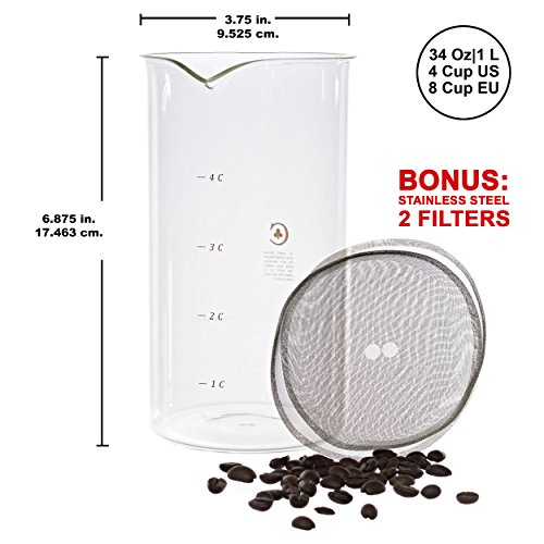 8 ounce carafe - 3