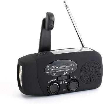 Radio Portátil (Am/FM/NOAA), Radio De Emergencia con Cargador ...