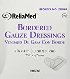 Bordered Gauze, 4 X 4, Latex-Free, Sterile 25/Bx