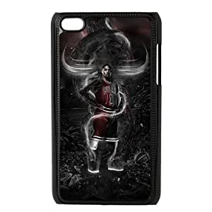 C-EUR Customized Phone Case Of Derrick Rose For Ipod Touch 4