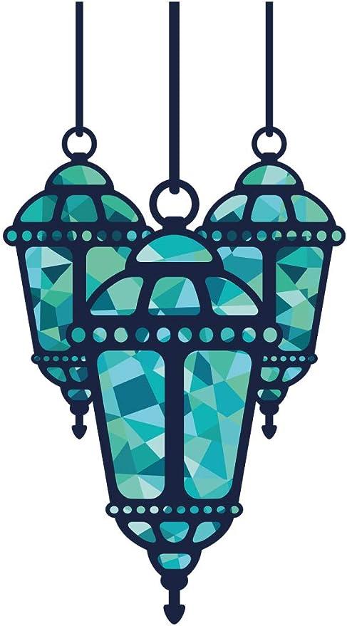 Wandtattoo Orient Wandsticker Orientalische Lampe Mit Grünem Licht Orientalisch Baumarkt