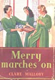 Front cover for the book Merry Marches On by Clare Mallory