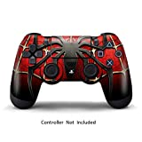 Skins for PS4 Controller – Stickers for Playstation 4 Games – Decals Cover for PS4 Slim Sony Play Station Four Controllers PS4 Pro Accessories PS4 Remote Wireless Dualshock 4 Skin – Widow Spider