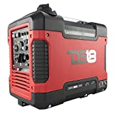 2000 Watt Portable Generator - DS18 DG2000I Super Quiet 2000W 120V Portable Power Inverter Generator