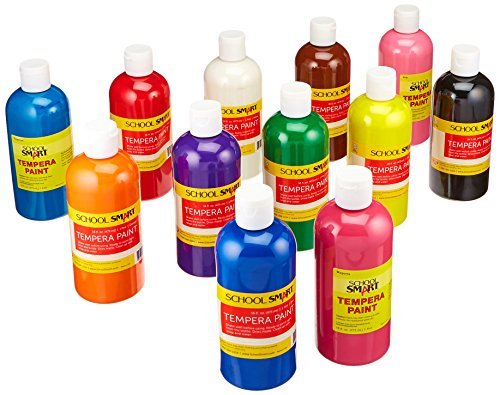 School Smart Tempera Paint - Pints - Set