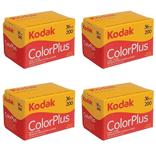 4 Rolls Of Kodak colorplus 200 asa 36 exposure from Kodak
