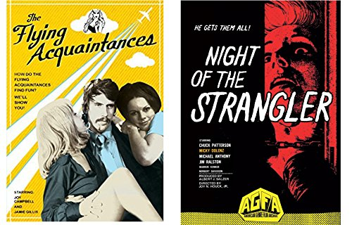 The Flying Acquaintances & Night of the Strangler 2-DVD Bundle