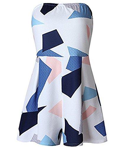 OSNIC Women Beach Dress Off Shoulder Floral Print Dresses Strapless Strapless Sexy loose - Soft Advantage Jacket