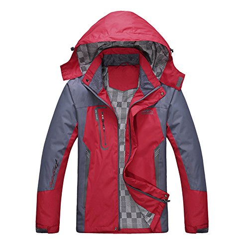 Diamond Candy men Sportswear Hooded Softshell Outdoor Rainco