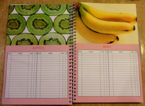 Home Finance Bill Organizer Template | Amazon Com Bill Organizer Home Finance With Pockets Fruits