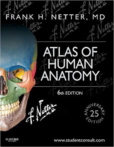Atlas Of Human Anatomy Including Student Consult Interactive Ancillaries And Guides Netter Basic Science 8601404282560 Medicine Health Books