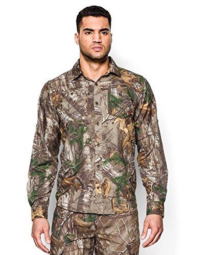 [해외]Under Armor Men 's UA 체사 피크 카모 롱 슬리브 셔츠/Under Armour Men`s UA Chesapeake Camo Long Sleeve Shirt
