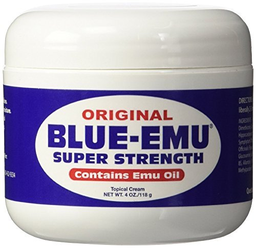 - Blue Emu Blue-Emu-Super Strength Oil, 4 Ounce by Blue Emu