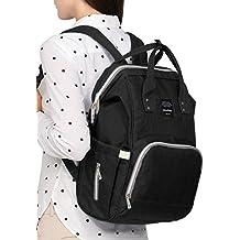 [Patrocinado] Bolsa de Pañales de bebé, Negro