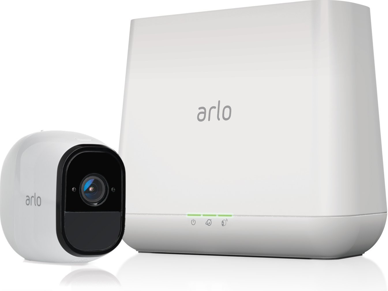 Arlo Pro Wireless Home Security Camera System With Time Integrated Electronic Doorbell Without Audio Transformer Siren Rechargeable Night Vision Indoor Outdoor Hd Video 2 Way Wall Mount
