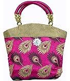 Kuber Industries™ Women's Mini Handbag 10*10 Inches (Pink)