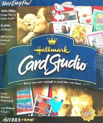 Hallmark Card Studio by Sierra