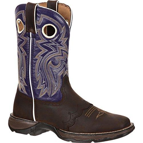 Durango Women's Flirt With Durango 10 inches Saddle Western Shoe,Twilight N' Lace,7.5 M US