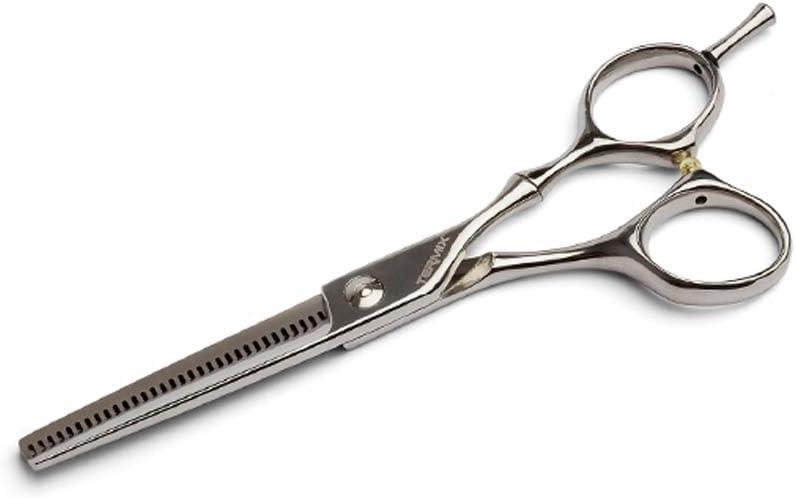 Termix CK23T Tijeras de vaciado Premium - Tijera profesional de esculpir o vaciar con un filo dentado de 32 dientes y hojas cóncavas