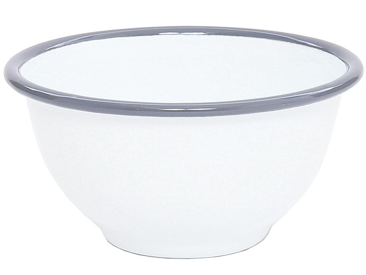 Crow Canyon - Enamelware Small Footed Bowl - Black Marble CGS International D02BLM