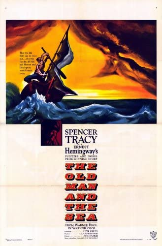The old man /& the sea Spencer Tracy movie poster print