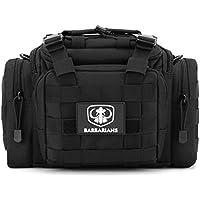 SLR/DSLR Camera Bag Waterproof Shockproof Case, Barbarians Tactical Gear Sling Pack MOLLE Waist Bag Shoulder Backpack with Adjustable Shoulder Straps