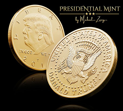 Donald Trump Challenge Coin 2018 Gold Plated In The