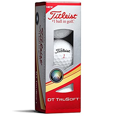 Titleist DT TruSoft Golf Balls (One Dozen) from Acushnet Company