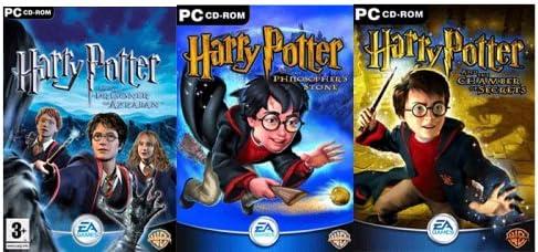 Harry Potter Triple Pack (PC CD) [Importación inglesa]: Amazon.es ...