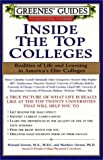Inside the Top Colleges, Howard Greene and Mathew W. Greene, 0060929944