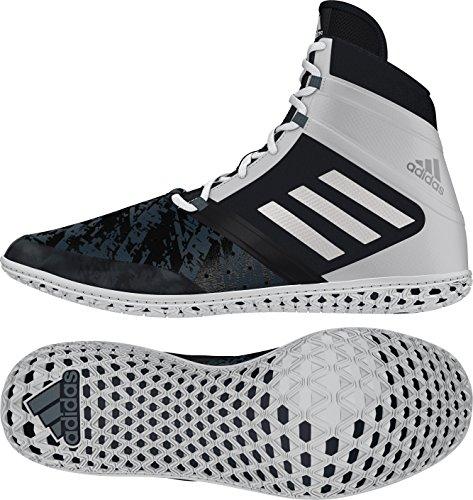 Adidas Impact Wrestling Schuh - Herren Schwarz / Silber / Weiß