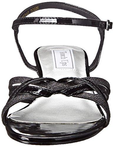 Touch Ups , Damen Sandalen, schwarz - schwarz - Größe: 36 2/3 EU