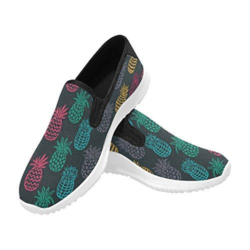 Mollette Slip-on Da Donna Slip-on Womens Slip-on Sneakers Moda Multi Canvas 1