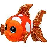 TY Beanie Boo Plush - Sami the Orange Fish 15cm