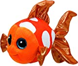 ty fish - Ty Sami Fish Plush, Orange, Regular