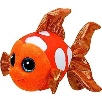 Ty Sami Fish Plush, Orange, Regular