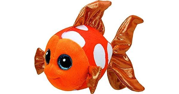 Amazon.com: TY Sami pescado de peluche (, Naranja, Regular ...