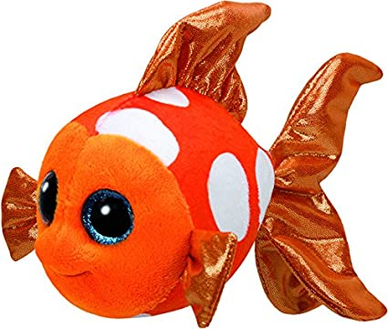 77c4273a319d8 Image Unavailable. Image not available for. Color  Ty Sami Fish Plush ...
