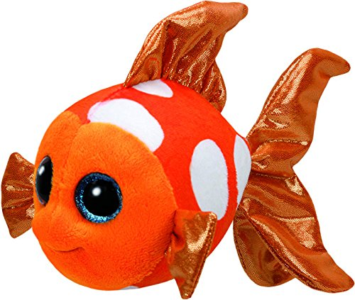 Ty Sami Fish Plush, Orange, Regular ()