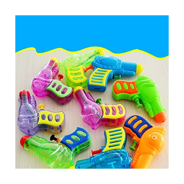 TOYMYTOY Acqua in plastica per pistola Squirt per bambini 6pcs (tipo e colore casuale) 3 spesavip
