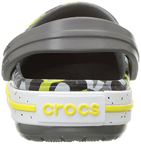 Crocs Unisex-Kids Crocband Camo Speck K Clog, Graphite/Camo, 12 M US Little Kid by Crocs (Image #2)