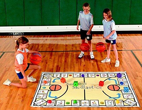 Skillastics 018178 Basketball Game For Grades 2 To 8