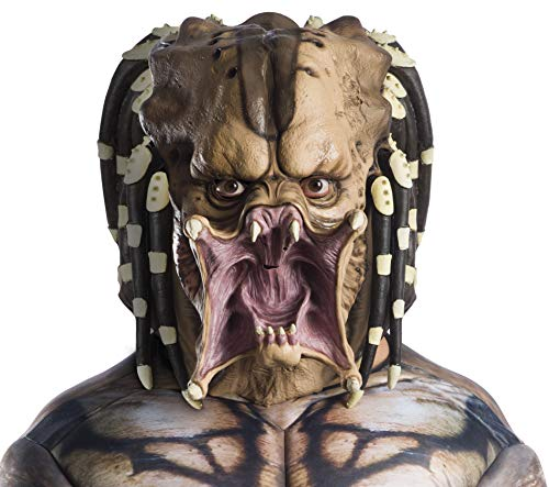 Rubie's Predator Overhead Latex Mask, As Shown, One Size