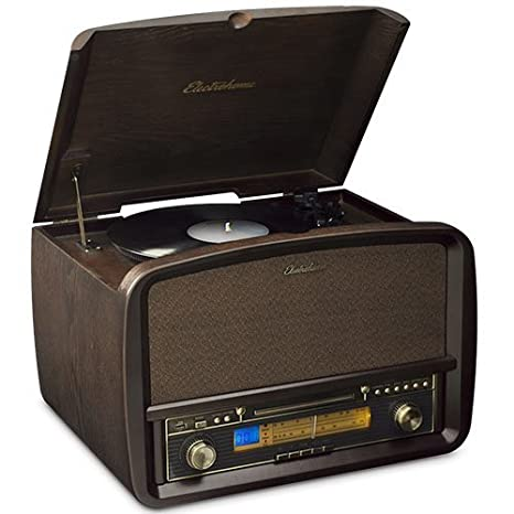 Amazon.com: Electrohome Signature Vinyl Record Player ...