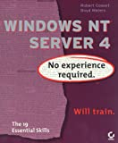NT Server 4, Robert Cowart and Boyd Waters, 0782120814